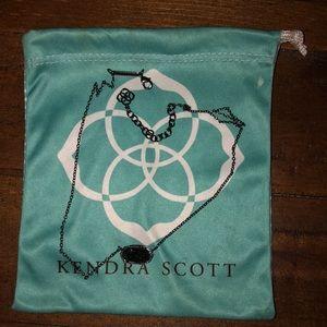 Kendra Scott All Black necklace